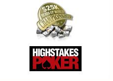 full tilt 25k heads up championships logo - hith stakes poker logo