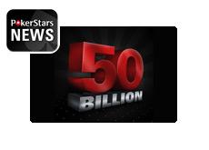 50 Billionth Hand at Pokerstars