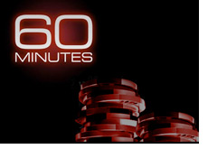 60 minutes is doing a story on online poker