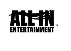 All-In-Entertainment - Logo - Black and White