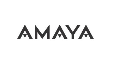 Amaya Inc. corporate logo - Black and white