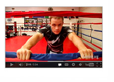 Poker Player Andrew Robl - Preparing for an MMA fight