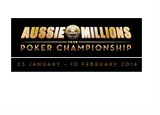 Aussie Millions 2014 - Logo - Ad