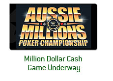 aussie millions logo - cash game