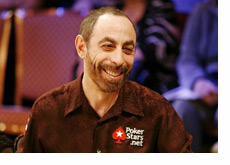 Barry Greenstein with a big smile on his face