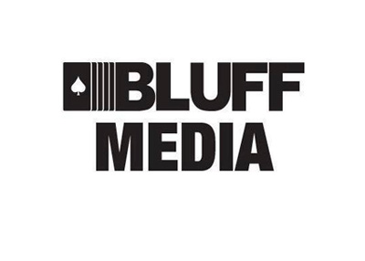 Bluff Media - Company Logo - Black and white