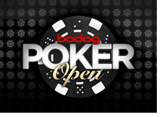 online tournament - bodog poker open - logo