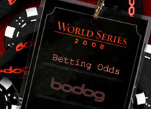 bodoglife world series of poker betting odds - wsop - bodog