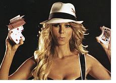 ex full tilt poker pro - clonie gowen - on the cover of maxim magazine