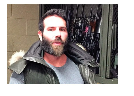 Dan Blizerian - Instagram Photo - Surrounded by Guns