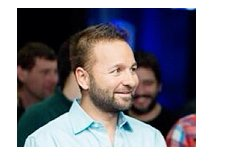 Daniel Negreanu wearing a blue shirt - Pokerstars