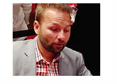 Daniel Negreanu in a checkered shirt