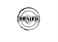 Denied entry to Canada - Illustration