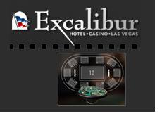 las vegas hotel excalibur switches to electronic pokerpro tables - poker pro