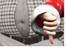 fat poker belly