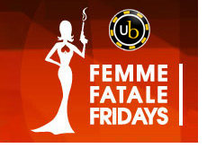 poker room ultimate bet - femme fatale featuring tiffany michelle - logo - promo