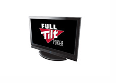 Full Tilt Poker commercials on TV - Illustration