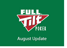 logo for poker room - full tilt - green background - august update