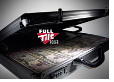 usd money case with a full tilt logo
