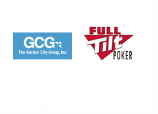Garden City Group and Full Tilt Poker Logos