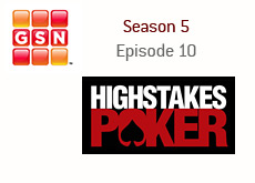 high stakes poker logo - gnc logo - season 5 - episode 10 - kings review