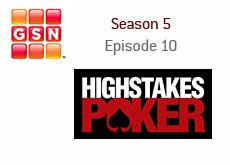 high stakes poker logo - gnc logo - season 5 - episode 10 - kings review