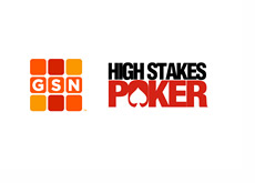 GSN and High Stakes Poker logos