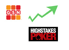 -- GSN - High Stakes Poker - TV Show - Ratings up --
