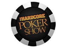 radio show hardcore poker - logo