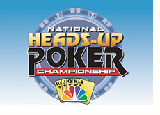 tournament logo - national heads-up championship - poker