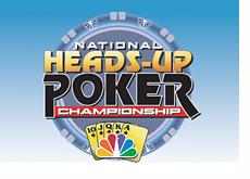 tournament logo - national heads-up championship - poker