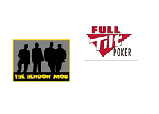 The Hendon Mob and Full Tilt Poker logos