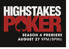 high stakes poker - logo
