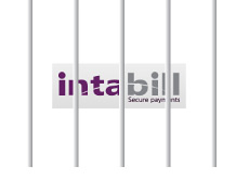 -- Jailed Intabill company logo - Illustration --