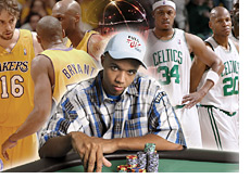 phil ivey betting on the lakers - boston nba finals