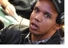 Phil Ivey with a surprised expression