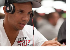 -- Phil Ivey in the thinking mode --