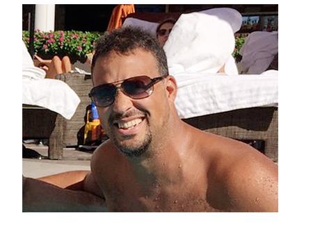 Jean Robert Bellande - Chilling in the pool with GSP - Instagram photo - Bellande wins bet - Oh Yess
