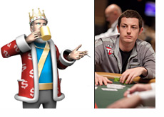 The King talking about Tom Dwan while having his morning coffee