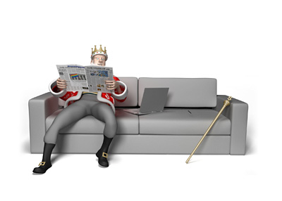 The King is resting on the couch enjoying the evening and recapping the events that lead to Doyle Brunson almost getting robbed