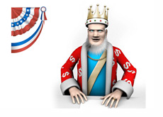 King reporting on the 2012 U.S. Presidential Elections