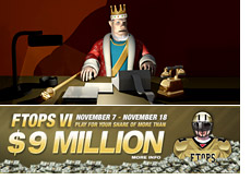 king discusses full tilt poker FTOPS event number VI