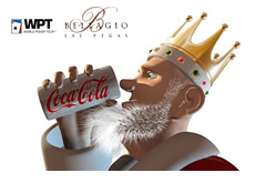 -- The King is having a cold bevie - Bellagio WPT --