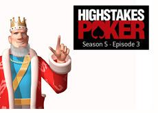 high stakes poker logo - season 5 episode 3 - and the king