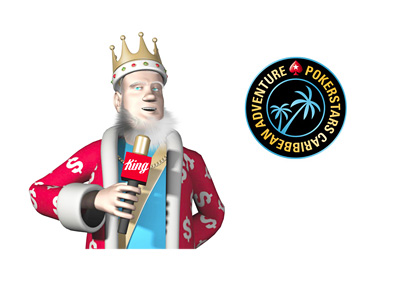 The King is discussing the state of affairs at the Pokerstars Caribbean Adventure tournament