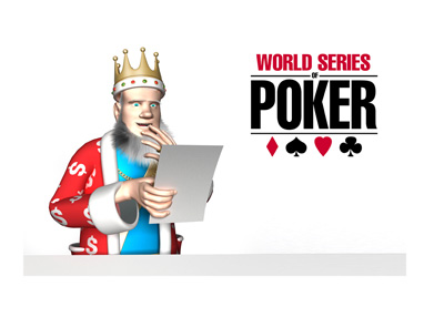 The King is reading the latest news on the upcoming WSOP tournament schedule