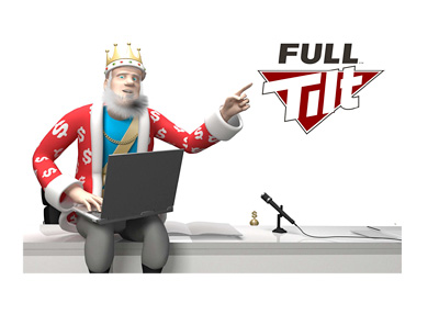 The King is at his office reminiscing of the days of Full Tilt Poker