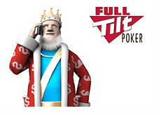 The King is on the phone receiving latest news about Full Tilt Poker