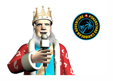 The King is talking about the evolution of PCA - Pokerstars Caribbean Adventure