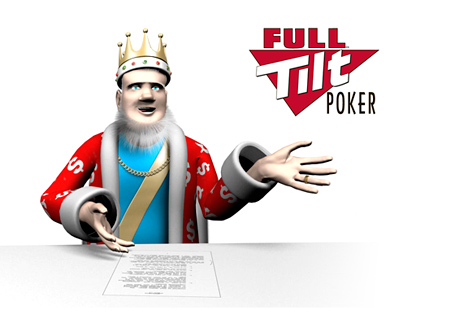 The King Full Tilt Poker - High Stakes Games - News Report